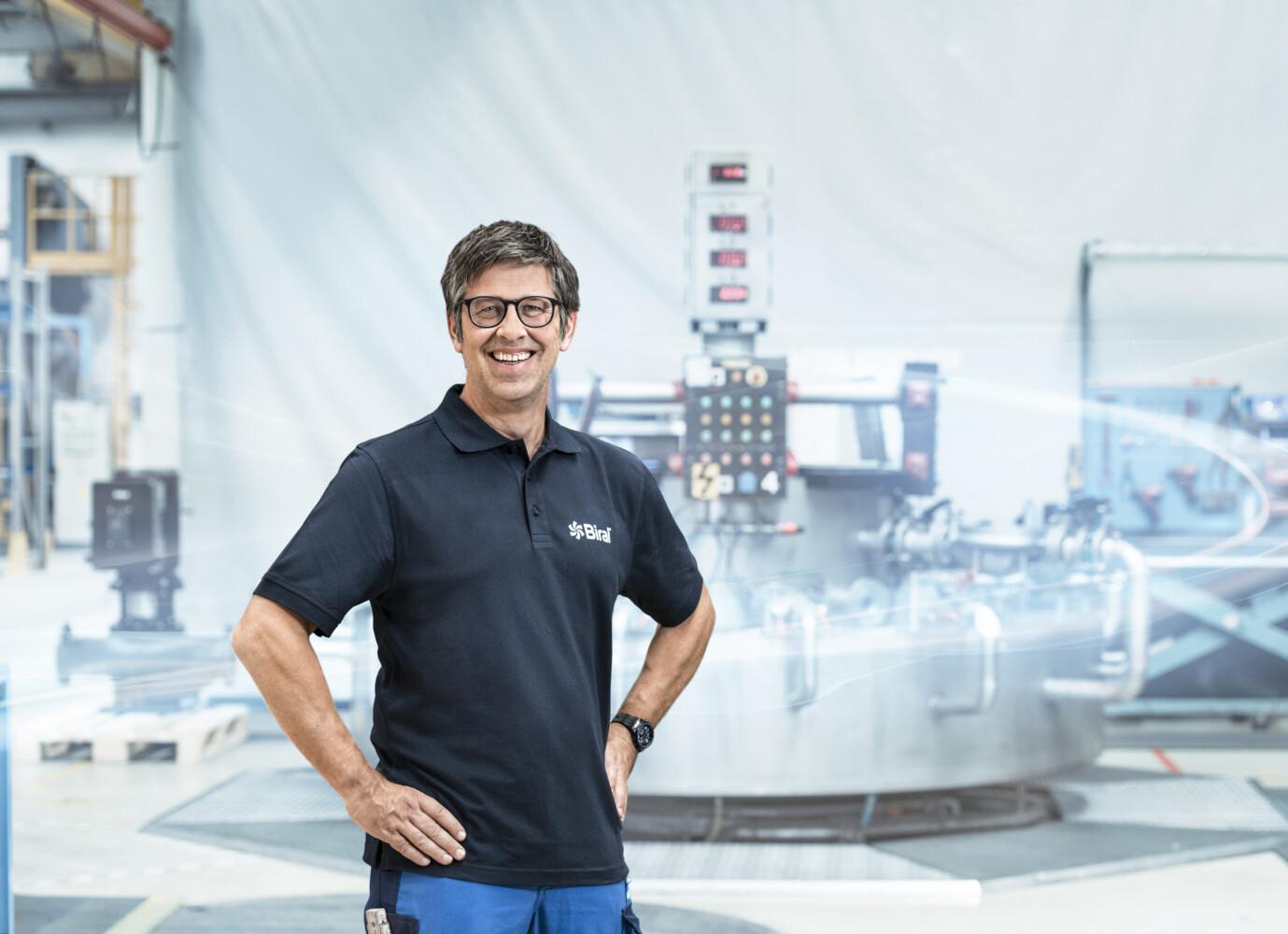 BMelchior Zürcher, Leiter Produktion und Logistik